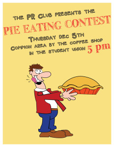 PR Club Pie Eating Contest