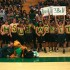 BHSU students show off their team spirit at a basketball game.