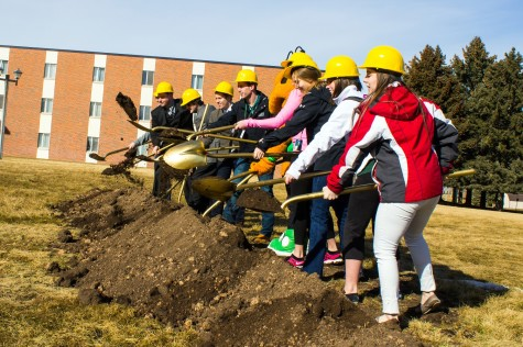 BHSU Breaks Ground for New Resident Hall