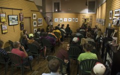 First poetry slam of fall semester draws a crowd