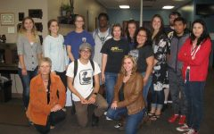 Black Hills State University's Mass Communication Students Take Field Trip to Seaton Publishing in Spearfish