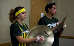 Pep Band on Sept. 15