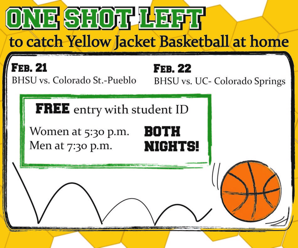 One+Shot+Left+to+Catch+Yellow+Jacket+Basketball+at+Home