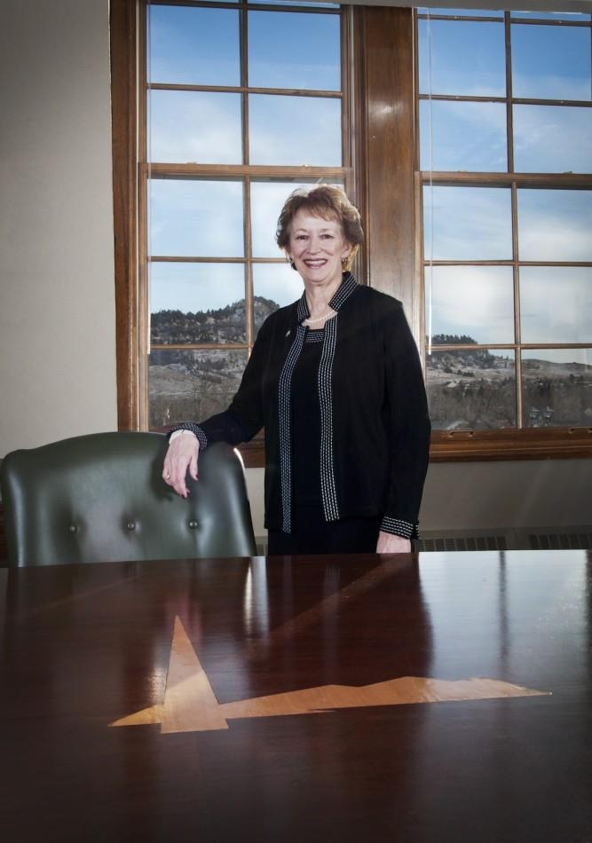 President+Schallenkamp+announced+her+retirement+last+October