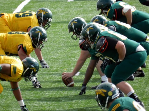 BHSU Vs. Jackets in the Spring Game