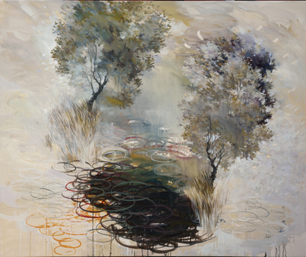 """Paul Peterson's """"Advocate Valence"""" was selected as Best of Show in the exhibition"""