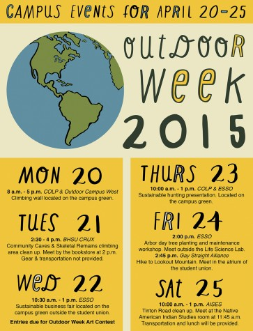 Outdoor Week Events