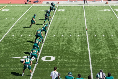 The BHSU Yellow Jackets football team kicks off at the first home game Sept. 26