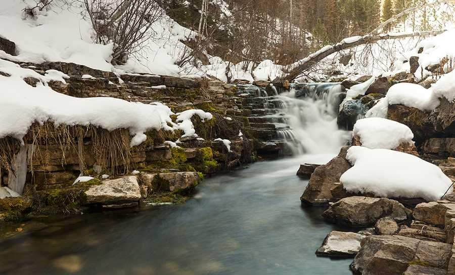 This is one of my favorite little waterfalls that cascade along the Iron creek trail in Spearfish Canyon.  I finally made the time after 4 years to do a long exposure shot of it. NEVER put an idea off!