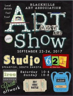 Black Hills Art Association Hosts Fall Art Show in Studio 621