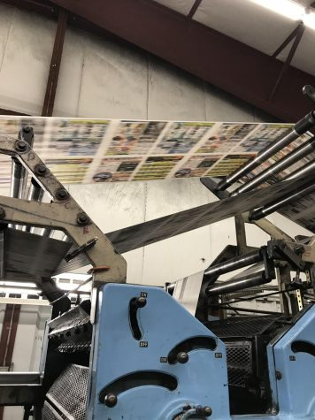Seton Publishing presses in action Spearfish