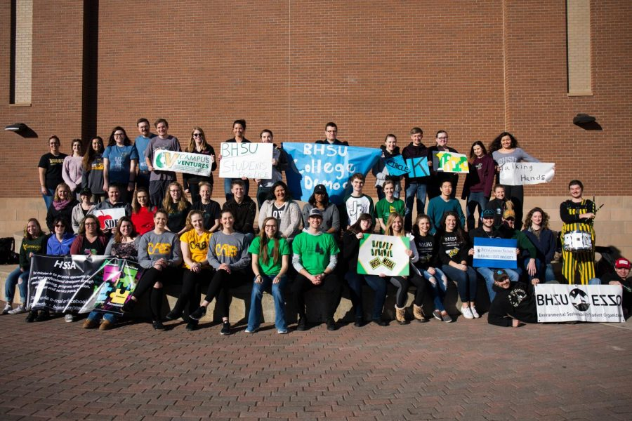Various BHSU organizations come together