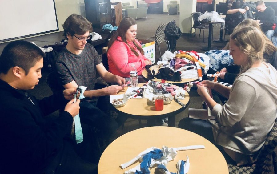Students Use Recycled Shirts to Make Toys for Dogs