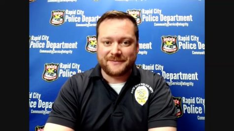 Brendyn Medina, Community Relations Specialist of the Rapid City Police Department